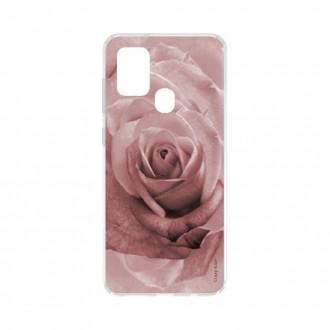 Coque Samsung Galaxy A21s souple Rose en couleur pastel Crazy Kase