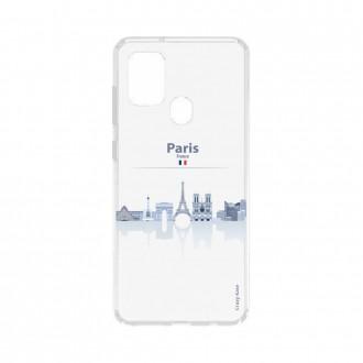 Coque Samsung Galaxy A21s souple Monuments de Paris Crazy Kase