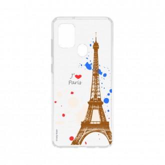 Coque Samsung Galaxy A21s souple Paris Crazy Kase