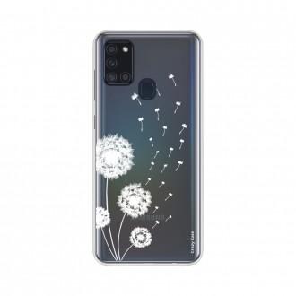 Coque Samsung Galaxy A21s souple Fleur de pissenlit Crazy Kase