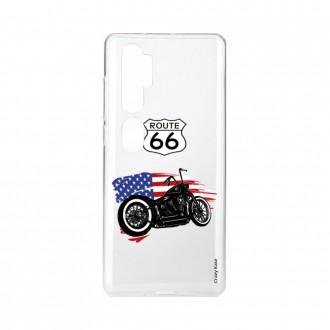 Coque pour Xiaomi Mi Note 10 souple Moto Harley Crazy Kase