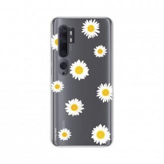 Coque pour Xiaomi Mi Note 10 souple Marguerite Crazy Kase