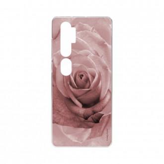 Coque pour Xiaomi Mi Note 10 souple Rose en couleur pastel Crazy Kase