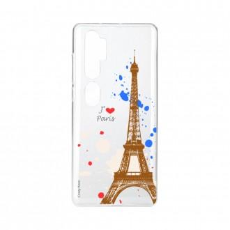 Coque pour Xiaomi Mi Note 10 souple Paris Crazy Kase