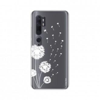 Coque pour Xiaomi Mi Note 10 souple Fleur de pissenlit Crazy Kase