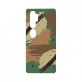 Coque pour Xiaomi Mi Note 10 souple Camouflage Crazy Kase
