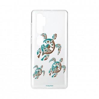 Coque pour Xiaomi Mi Note 10 souple Famille Tortue Crazy Kase