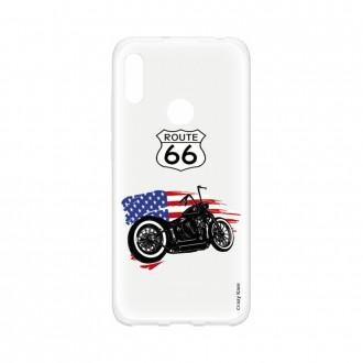 Coque pour Huawei Y6s souple Moto Harley Crazy Kase