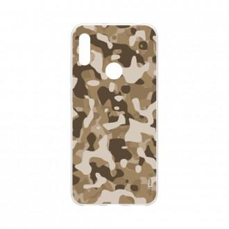 Coque pour Huawei Y6s souple Camouflage militaire désert Crazy Kase