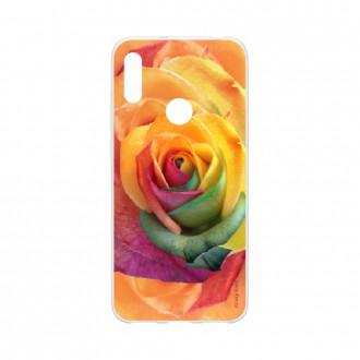 Coque pour Huawei Y6s souple Rose fleur colorée Crazy Kase