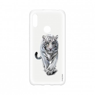 Coque pour Huawei Y6s souple Tigre blanc Crazy Kase