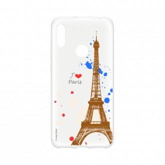 Coque Huawei Y6s souple Paris Crazy Kase