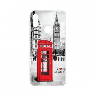 Coque Huawei Y6s souple I love London Crazy Kase