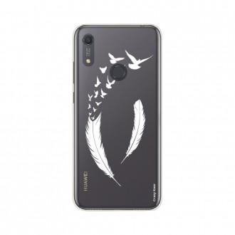 Coque Huawei Y6s souple Plume et envol d'oiseaux Crazy Kase