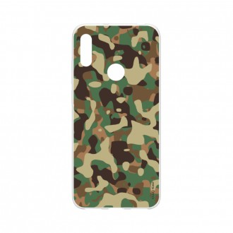 Coque Huawei Y6s souple Camouflage militaire Crazy Kase