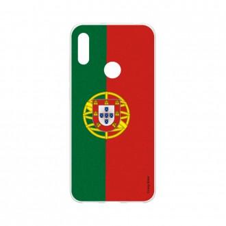 Coque Huawei Y6s souple Drapeau Portugais Crazy Kase
