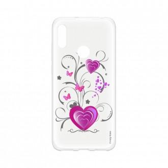 Coque Huawei Y6s souple Coeur et papillon Crazy Kase