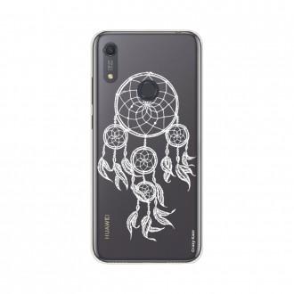 Coque Huawei Y6s souple Attrape rêves blanc Crazy Kase