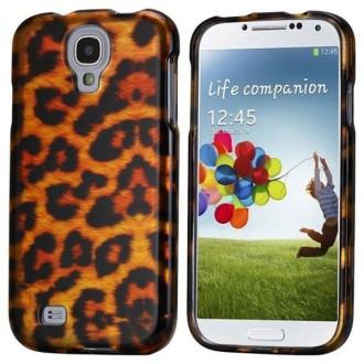 Coque avant-arrière motif léopard pour Samsung Galaxy S4 i9500