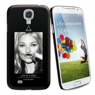 Coque de protection licence Eleven Paris motif Kate Moss pour Samsung Galaxy S4 i9500