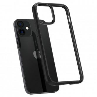Spigen Coque iPhone 12 Mini (5,4) Ultra Hybrid noir mat