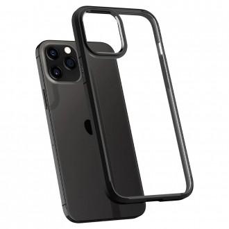 Spigen Coque iPhone 12 Pro Max (6,7) Ultra Hybrid noir mat