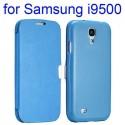 Etui bleu ouverture horizontale pour Samsung Galaxy S4 i9500