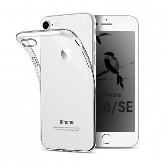 Akami Coque iPhone SE (2020) / iPhone 8 / iPhone 7 Transparente en silicone de haute qualité
