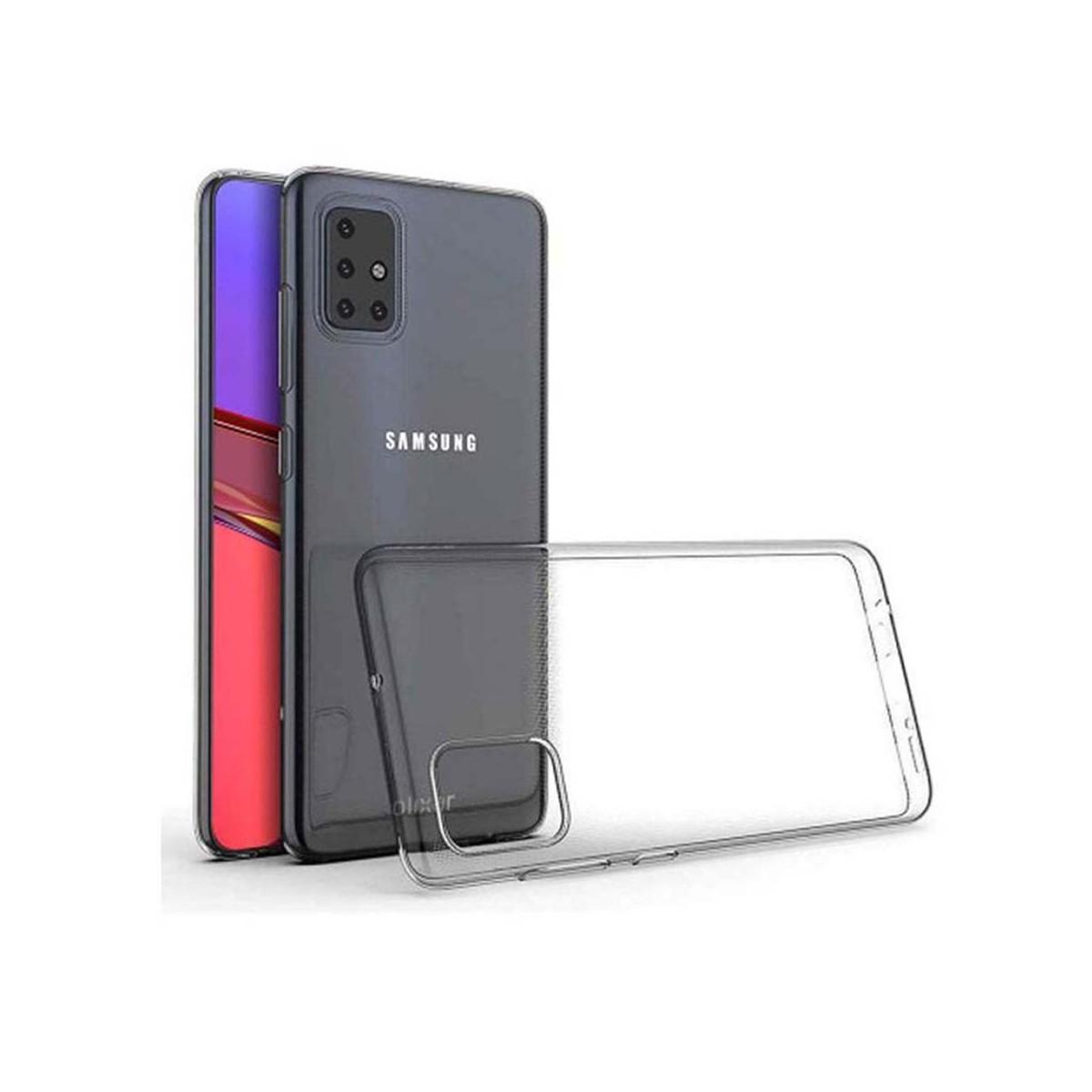 Akami Coque Samsung Galaxy A51 Transparente en silicone de haute qualité