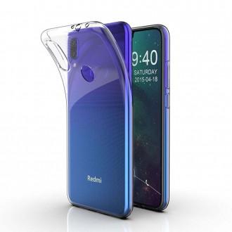 Akami Coque pour Xiaomi Redmi Note 7 Housse de protection en silicone de haute qualité - Transparent