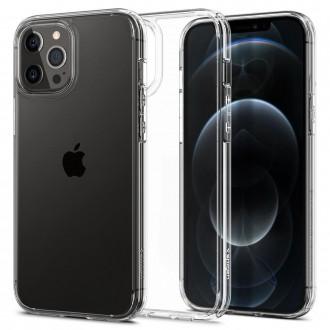 Spigen Coque iPhone 12 Pro Max (6,7) en polycarbonate et silicone transparente Ultra Hybrid