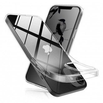 Coque Akami pour iPhone 12 Mini (5,4) en silicone de haute qualité transparent