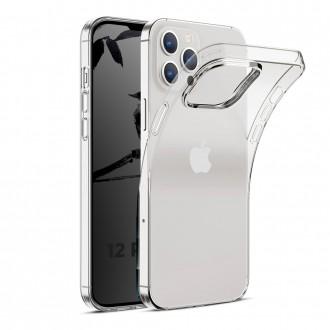 Coque Akami pour iPhone 12 Pro Max (6,7) en silicone de haute qualité transparent