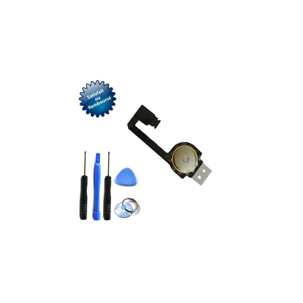Nappe bouton home pour Apple iPhone 4S + outils