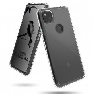 Coque Akami pour Google Pixel 4a en silicone de haute qualité transparent