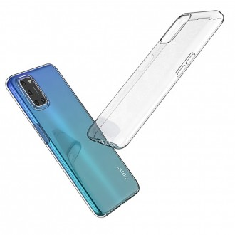 Coque Akami pour Oppo A72 en silicone de haute qualité transparent