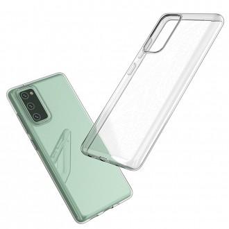 Coque Akami pour Samsung Galaxy S20 FE en silicone de haute qualité transparent