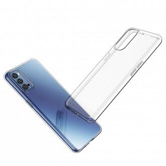Coque Akami pour Oppo Reno4 5G en silicone de haute qualité transparent