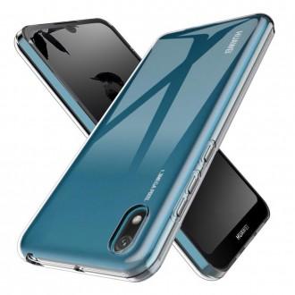 Akami coque transparente pour Huawei Y5 2019 en silicone de haute qualité