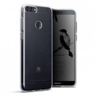 Akami coque transparente pour Huawei P Smart 2018 en silicone de haute qualité