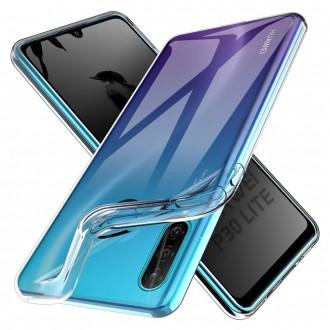 Akami Coque Huawei P30 Lite, Housse de protection en silicone de haute qualité - Transparent
