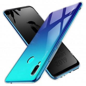 Akami Coque Huawei P Smart 2019, Housse de protection en silicone de haute qualité - Transparent
