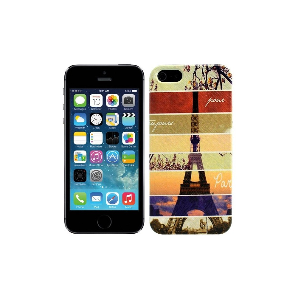 Coque motif Tour Eiffel iPhone 5 / 5S