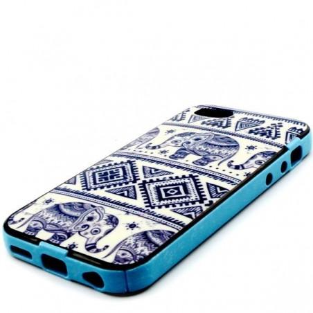 Coque motif Eléphant bleu pour iPhone 5C