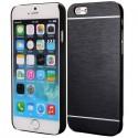 Coque iPhone 6 / 6S aluminium brossé noir