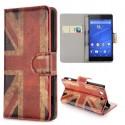 Etui Sony Xperia Z3 Mini motif drapeau UK