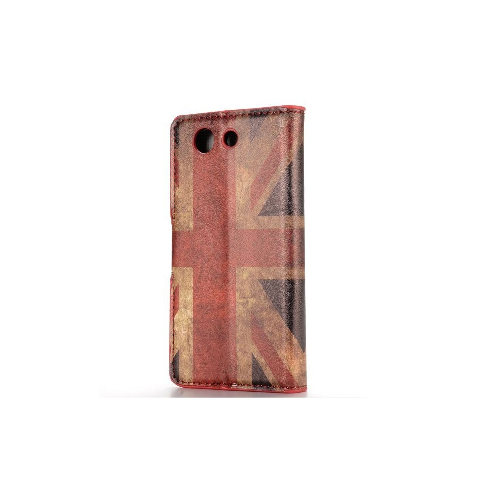 Etui Sony Xperia Z3 Mini motif drapeau UK