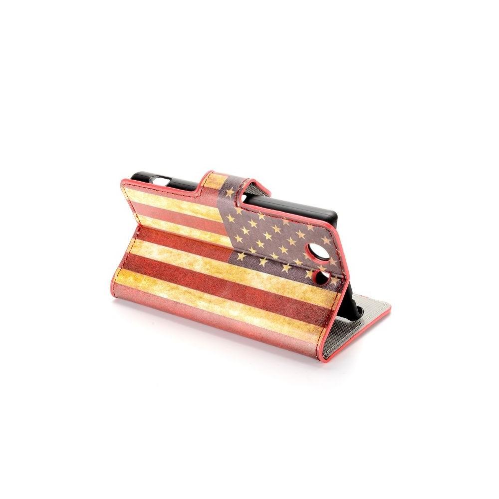 Etui Sony Xperia Z3 Mini motif drapeau USA