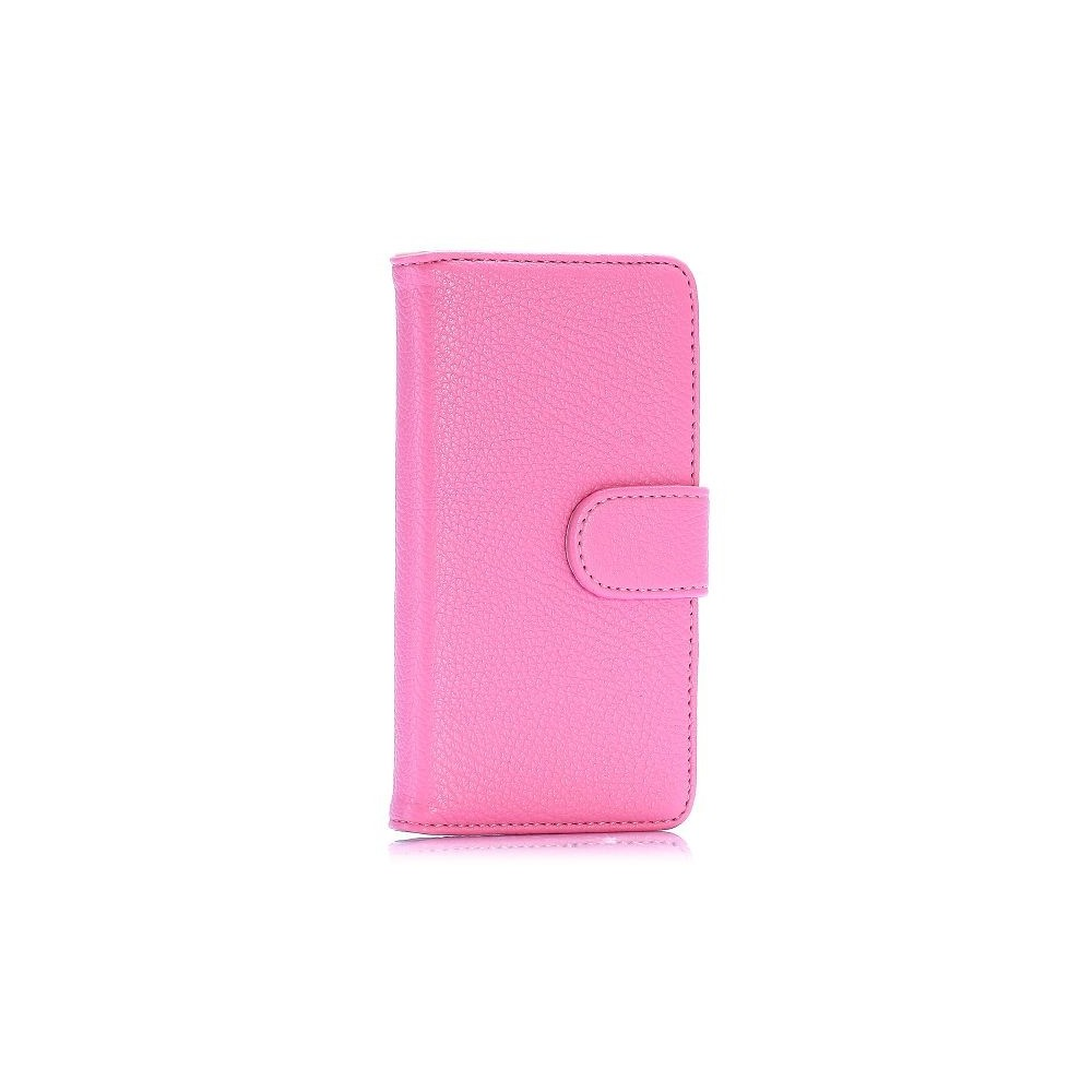 Etui Sony Xperia Z3 Mini Simili-cuir rose