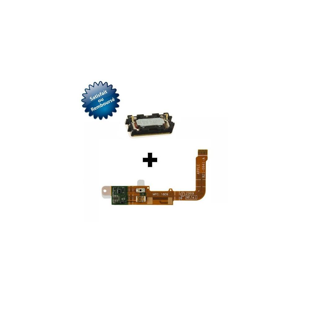 Nappe sonde N°3 Flex pour Apple iPhone 3G/3GS + module écouteur interne